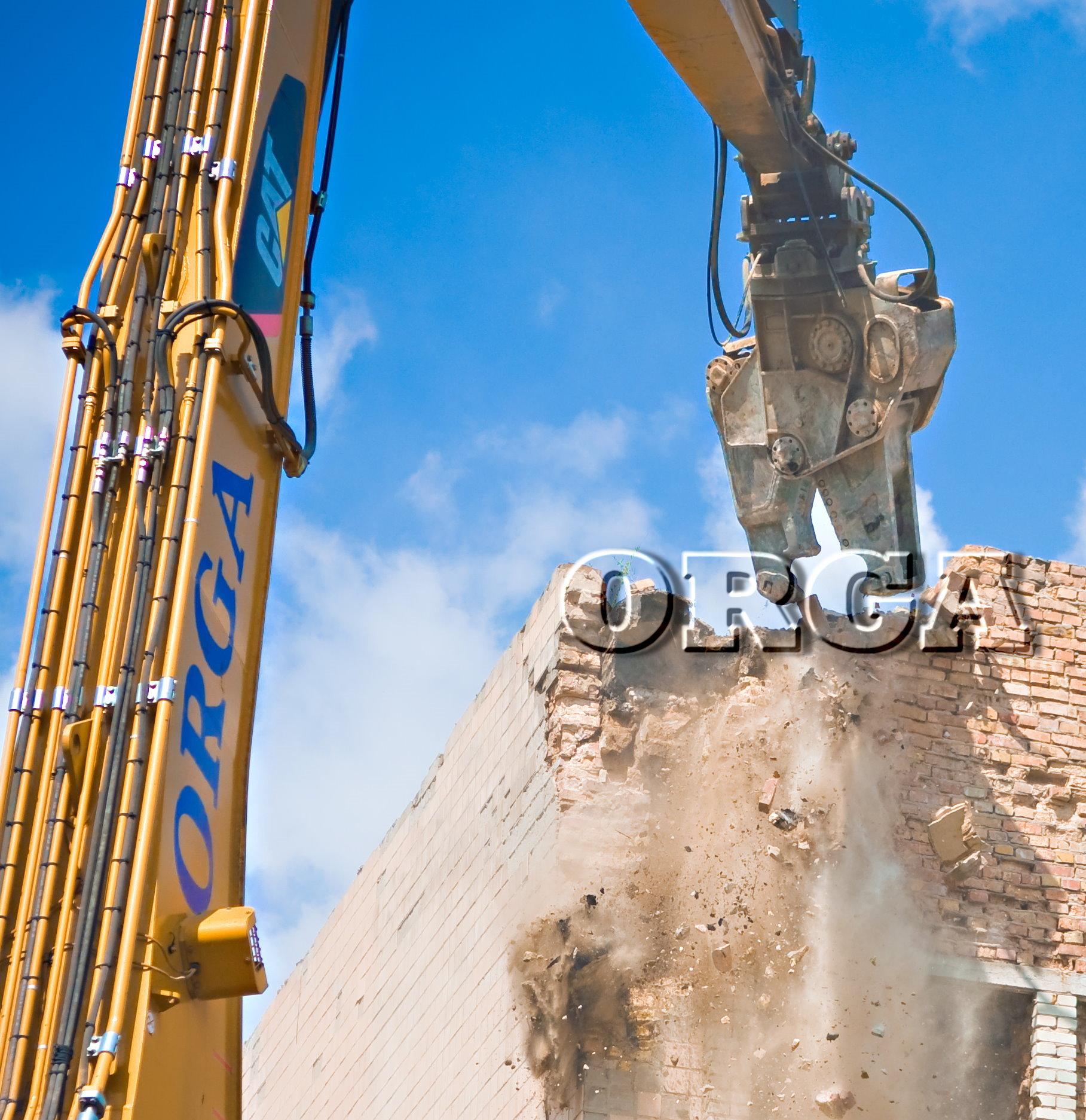 Демонтаж металлоконструкций тонна
